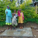 The Water Project: Sasala Community, Kasit Spring -  Thumbs Up For Sanitation Platforms