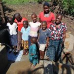 The Water Project: Buyangu Community, Osundwa Spring -  Happy Spring Users