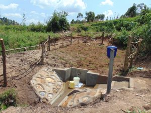 The Water Project:  Shihungu Spring Site