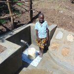 The Water Project: Buyangu Community, Osundwa Spring -  Happy Fetching Water