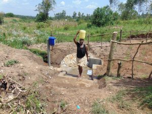 The Water Project:  Happy With Fresh Spring Water