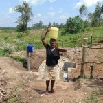 The Water Project: Shihungu Community, Shihungu Spring -  Hello From Shihungu Spring