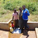 The Water Project: Shirugu Community, Jeremiah Mashele Spring -  Precious And Maureen With Jemmimah