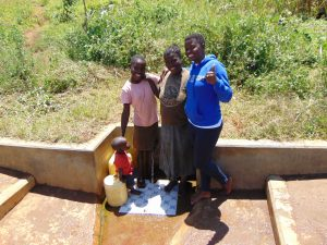 The Water Project:  Precious And Maureen With Jemmimah