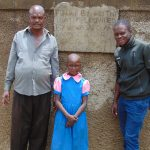 The Water Project: Kapsotik Primary School -  Mr Imbuizi Sheila And Field Officer Samuel Samidi