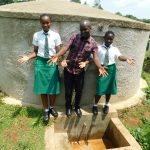 The Water Project: ACK Milimani Girls' Secondary School -  Immaculate Field Officer Victor Musemi And Lutta