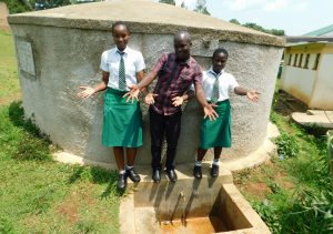 The Water Project:  Immaculate Field Officer Victor Musemi And Lutta