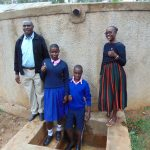 The Water Project: Bumuyange Primary School -  Mr Shibira Irene Norman And Field Officer Joan Were
