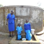 The Water Project: Shivanga Primary School -  Madam Miriam Memeti With Beatrice And Anne