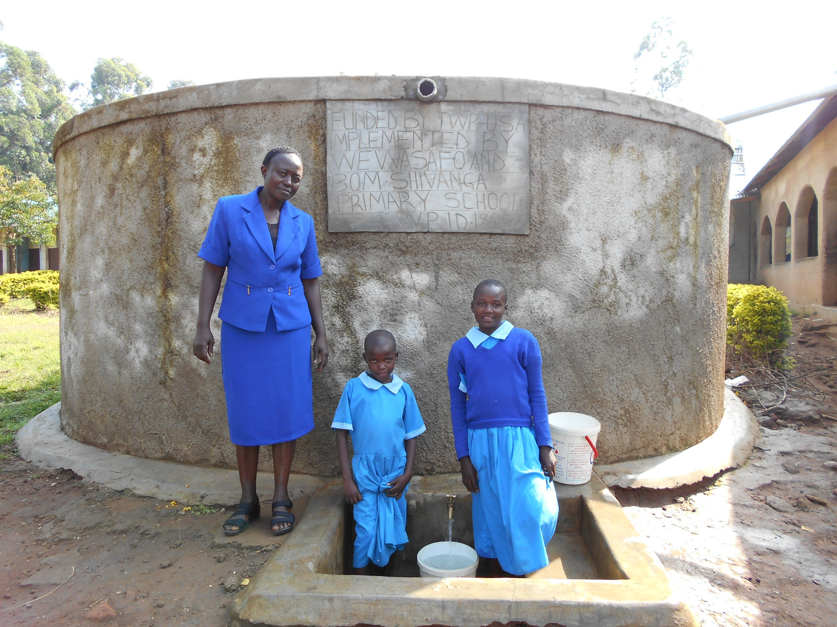 The Water Project : 5-kenya18084-madam-miriam-memeti-with-beatrice-and-anne