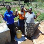 The Water Project: Luyeshe Community, Matolo Spring -  Hands Up For Clean Water