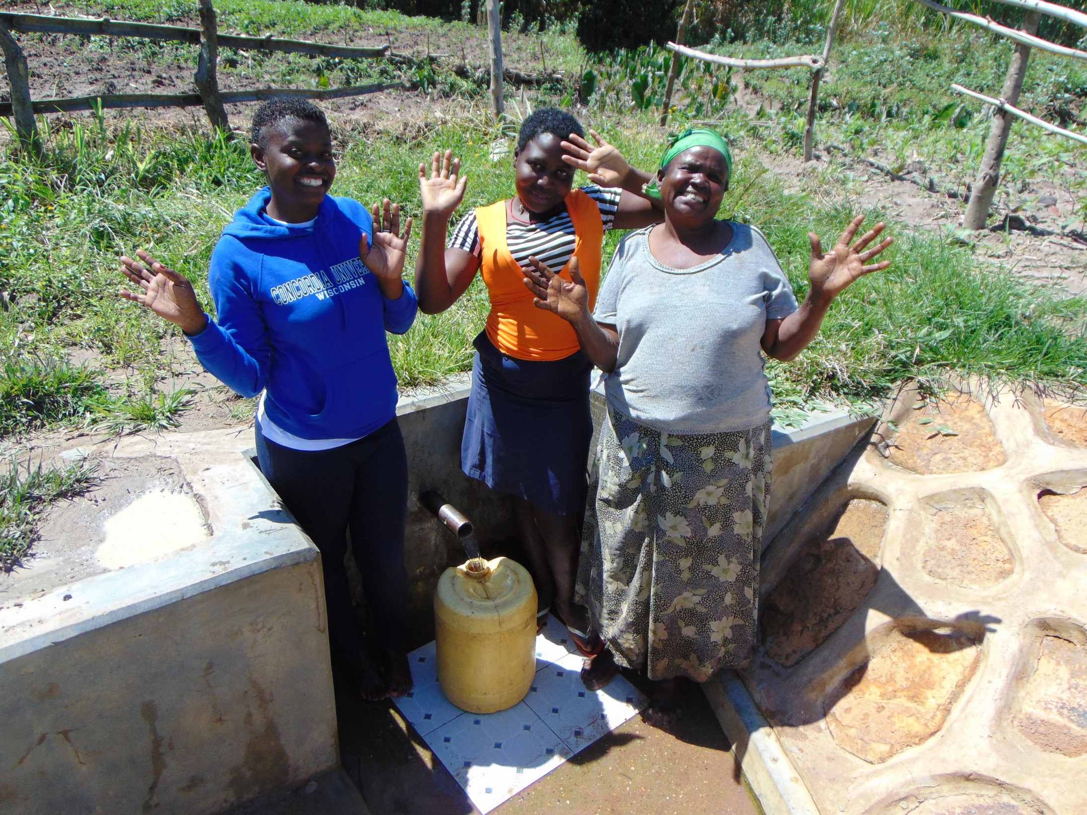 The Water Project : 5-kenya18126-hands-up-for-clean-water
