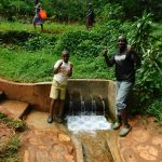 The Water Project: Shirakala Community, Ambani Spring -  John Lihavo And Titus Isaac