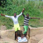 The Water Project: Burachu B Community, Maji Mazuri Spring -  Friends Elias Masinde And Ibrahim Okumu