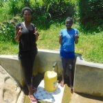 The Water Project: Chegulo Community, Werabunuka Spring -  Margret And Ruth
