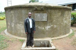 The Water Project:  Head Teacher Mr Chitechi