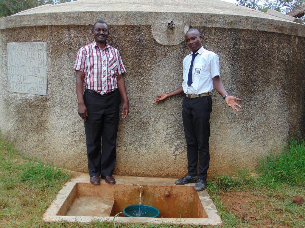 The Water Project : 5-kenya18316-mr-ambunya-and-renson