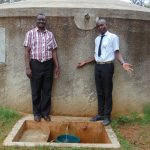 The Water Project: Lwanda Secondary School -  Mr Ambunya And Renson