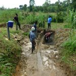 The Water Project: Ikonyero Community, Amkongo Spring -  Excavation Begins