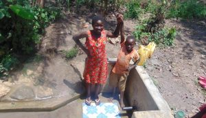 The Water Project:  Sharon With Another Child At The Spring