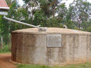 The Water Project:  Gidagadi Rain Tank Looking Good