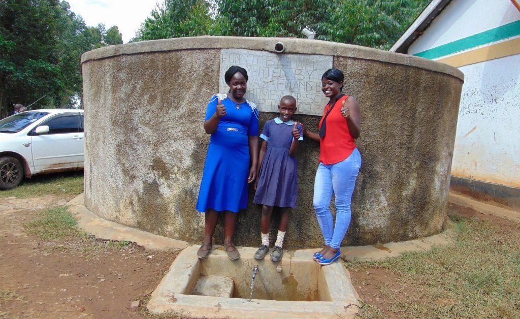 The Water Project : 6-kenya18073-mrs-ihaji-purity-and-jemmimah