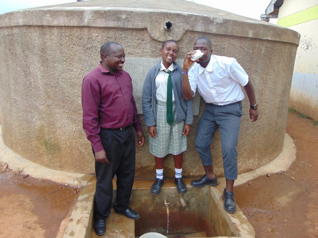 The Water Project : 6-kenya18075-enjoying-a-drink