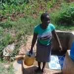 The Water Project: Musango Community, Jared Lukoko Spring -  Ready To Go Home With Water