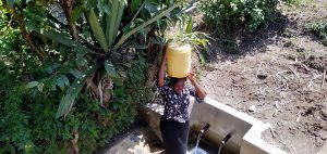 The Water Project:  Karen Carrying Water
