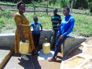 The Water Project:  Jemmimah With Happy Community Members