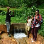 The Water Project: Shirakala Community, Ambani Spring -  Titus John And Jacklyne