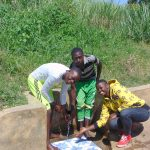 The Water Project: Burachu B Community, Maji Mazuri Spring -  Elias Ibrahim And Jemmimah