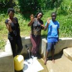 The Water Project: Chegulo Community, Werabunuka Spring -  Margret Jacklyne And Ruth