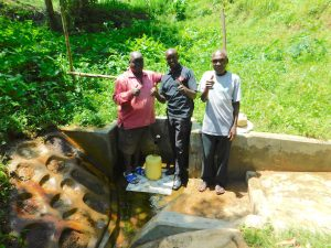 The Water Project:  Field Officer Wilson Kipchoge Center Joins The Photo