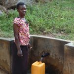 The Water Project: Upper Visiru Community, Wambosani Spring -  Mary Manase