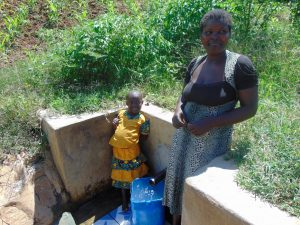 The Water Project:  Filling Up At The Spring