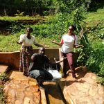 The Water Project: Shirakala Community, Ambani Spring -  Rhoda Titus And Jacklyne Are All Smiles