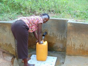The Water Project:  Mary Fetches Water