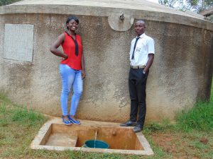 The Water Project:  Field Officer Jemmimah And Renson