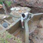 The Water Project: Shihungu Community, Shihungu Spring -  Plaster Works
