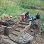 The Water Project: Sasala Community, Kasit Spring -  Stair Construction