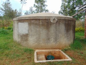 The Water Project:  Lwanda Secondary School Rain Tank