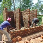 The Water Project: Lwanga Itulubini Primary School -  Latrine Construction