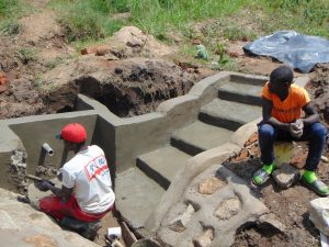 The Water Project:  Cementing And Plastering Continue