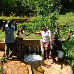 The Water Project: Shirakala Community, Ambani Spring -  Celebrating Water