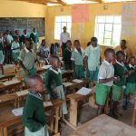 The Water Project: Lwanga Itulubini Primary School -  Student Participation At Training