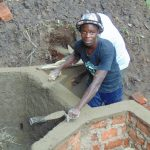 The Water Project: Buyangu Community, Osundwa Spring -  Plaster And Cement Work