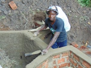 The Water Project:  Plaster And Cement Work