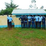 The Water Project: Kerongo Secondary School -  Boys At Their Latrines