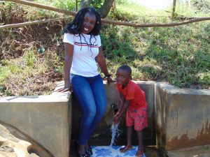 The Water Project:  Field Officer Laura With Dunstone